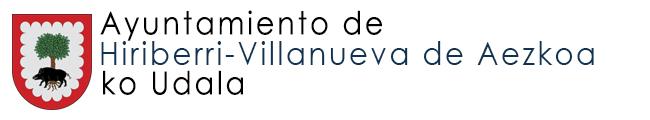 Hirriberri – Villanueva de Aezkoa-ko Udala
